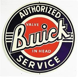 Buick Service Metal Sign