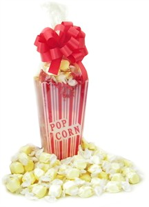 Buttered Popcorn Salt Water Taffy Filled Container (Sold Out)
