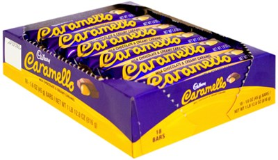 Caramelo Candy Bars 36ct