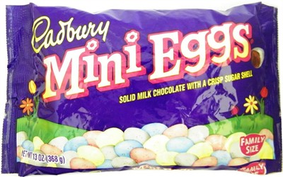 Cadbury Mini Chocolate Crisp Eggs 13oz. (sold out)