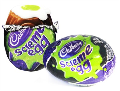 Cadbury Screme Eggs Halloween Candy - 2ct.