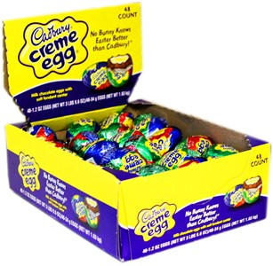 Cadbury Creme Eggs 48ct.