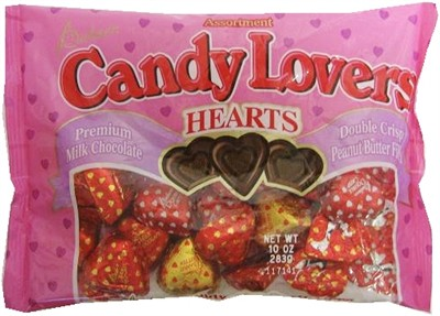 Candy Lovers Chocolate Hearts Bag 10oz (discontinued)