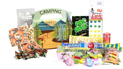 Camping Candy Assortment Gift Box