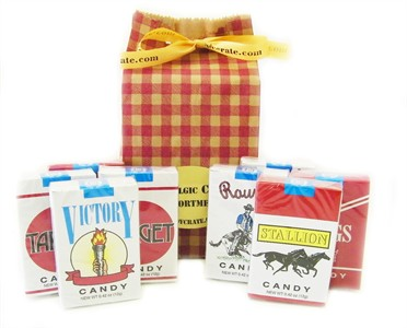 Candy Cigarettes Gift Bag 8 pc