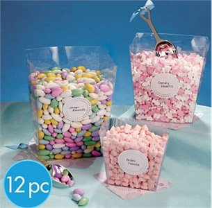 Candy Buffet Square Plastic Container Set (sold out)