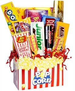 More Retro Candy Gift Baskets