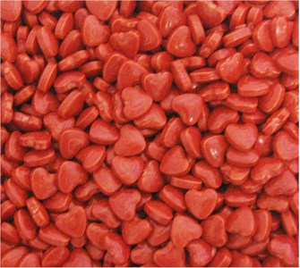 Cherry Candy Hearts 5LB