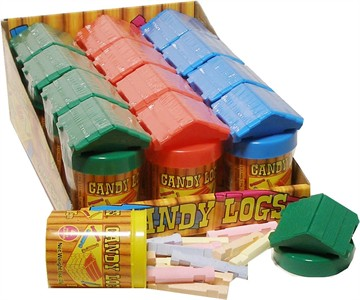 Candy Logs 12ct (DISCONTINUED)