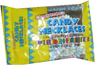Candy Necklaces Unwrapped 3.5oz bag (DISCONTINUED)