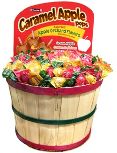 Caramel Apple Bushel Basket 1000ct.