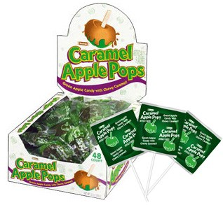 Caramel Apple Pops 48ct.