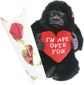 I'm APE Over You Valentine Gorilla (Sold Out)