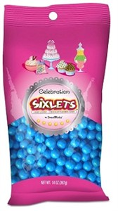 Celebration Sixlets - Royal Blue 14oz. Bag