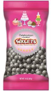 Celebration Sixlets Silver Bag