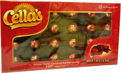 Cella's Milk Chocolate Covered Cherries 11oz. (Sold Out)