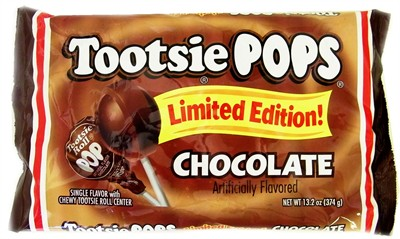 Tootsie Pops Limited Edition Chocolate Flavor 13.2oz