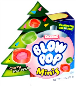 Blow Pop Minis Holiday Box 1oz. (sold out)