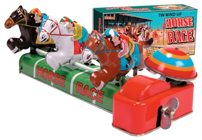 Mechanical Tin Horse Race (DISCONTINUED)