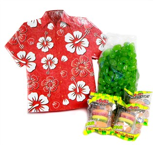 Cheeseburger in Paradise Candy Gift Box