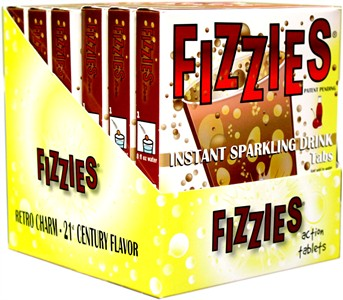 Fizzies Candy Drink Tablets - Cherry Cola 6ct.