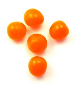Chewy Sour Balls - Orange 5 LB