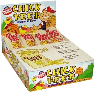 Chick Feed Bubble Gum 24ct. (Sold Out)