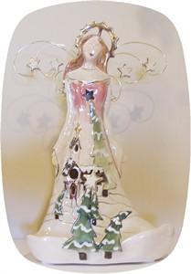 Chapel in the Woods Angel Tealight Holder (Sold Out)