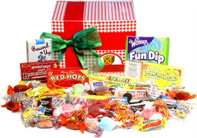 Holiday Nostalgic Candy Gift Box