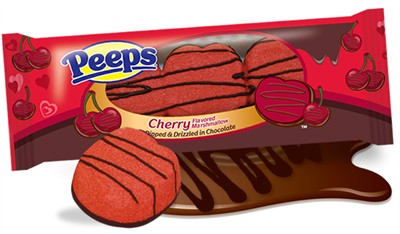 Chocolate Dipped Cherry Marshmallow Peeps (Sold Out)