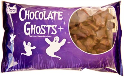 Chocolate Mellowcreme Ghosts 12oz. (DISCONTINUED)