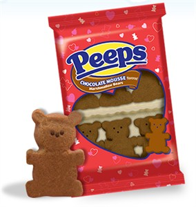 Chocolate Mousse Teddy Bear Marshmallow Peeps