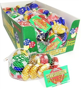 Texas Hold 'Em Chocolate Poker Chips 18ct. (DISCONTINUED)