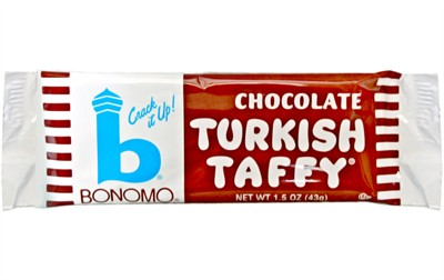 Bonomo Turkish Taffy - Chocolate - 2ct.