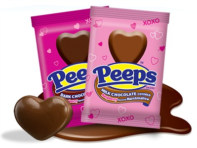 Chocolate Covered Heart Marshmallow Peeps (Coming Soon)