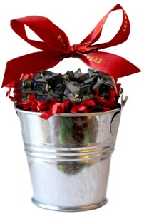 Small Coal Filled Tin Bucket (sold out)