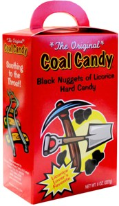 The Original Licorice Coal Candy Gift Box (discontinued)