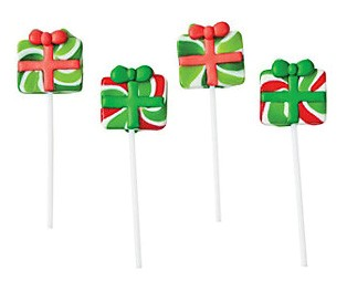 Christmas Gift Frosted Swirl Pops 12ct.