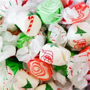 Christmas Holiday Salt Water Taffy 3LB