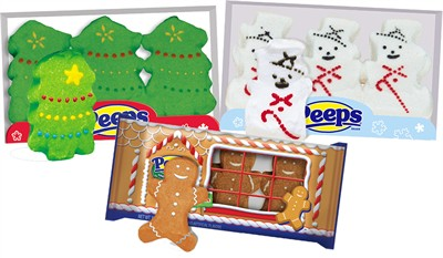 Christmas Peeps Assortment (Sold Out)