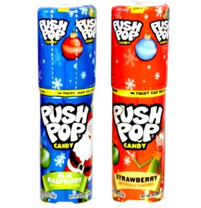Push Pop Christmas Candy 2ct.