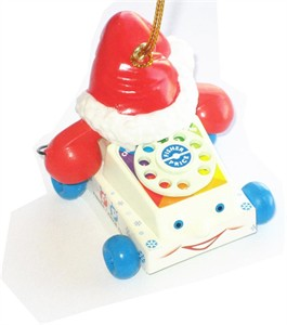 Chatter Telephone Christmas Tree Ornament (sold out)