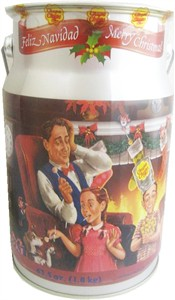 Chupa Chups Collectible Christmas Tin 150ct. (DISCONTINUED)