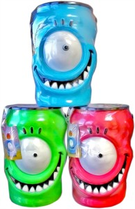 Chupa Chups Lollipops Halloween Monster Eye Container 100ct. ( discontinued)