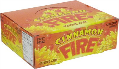 Cinnamon Fire Gum Balls 120ct (DISCONTINUED)