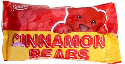 Cinnamon Bears 16oz. (Sold Out)