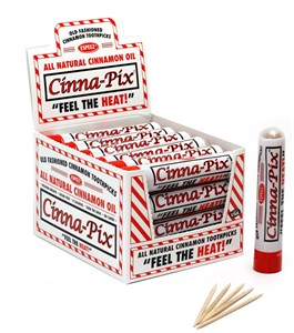 <strong>All Natural Cinnamon Toothpicks 12-15ct. </strong>