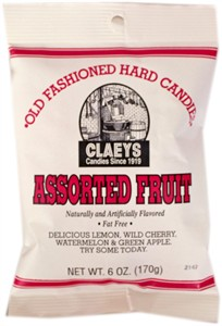 Claey's Old Fashioned Candy Drops - Assorted Fruit