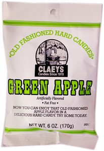 Claey's Old Fashioned Candy Drops - Green Apple