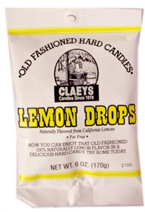 Claey's Old Fashioned Candy Drops - Lemon